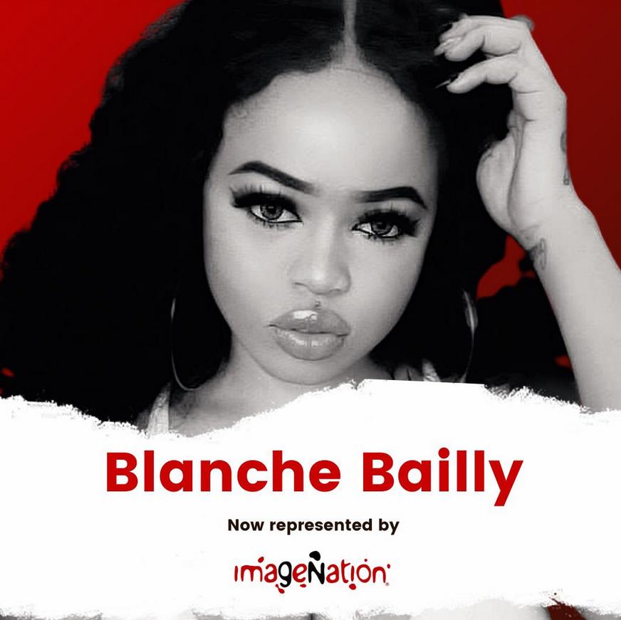L'image de l'artiste camerounaise Blanche Bailly désormais gérée par l'agence de RP ImageNation
