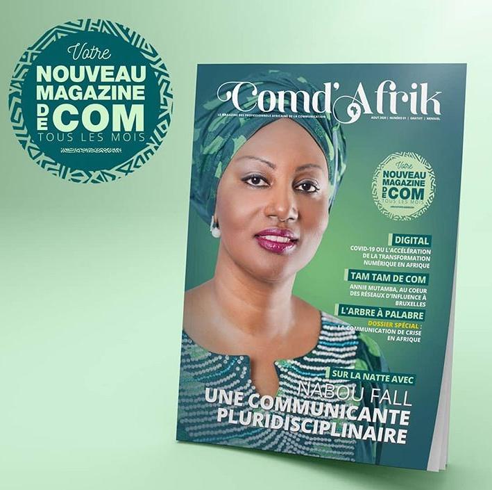 Com d'Afrik Mag, le 1er magazine africain en communication publique est en orbite