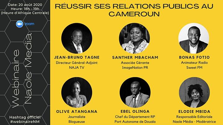 Reussir ses Relations Publics au Cameroun