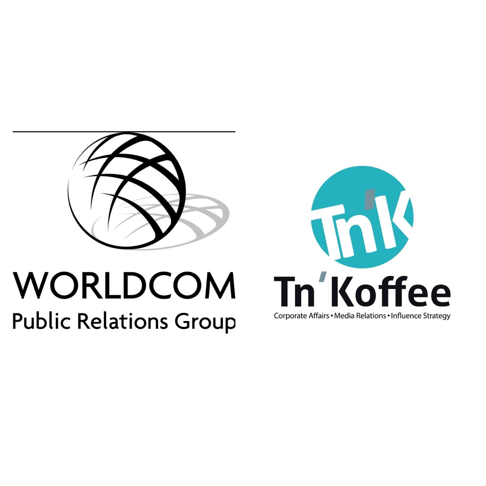 Tn'Koffee désormais membre de Worldcom Public Relations Group, le plus grand réseau mondial d'agences indépendantes.