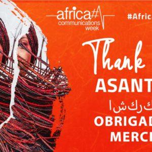 Événement : Les communicants célèbrent l'Africa Communications Week !