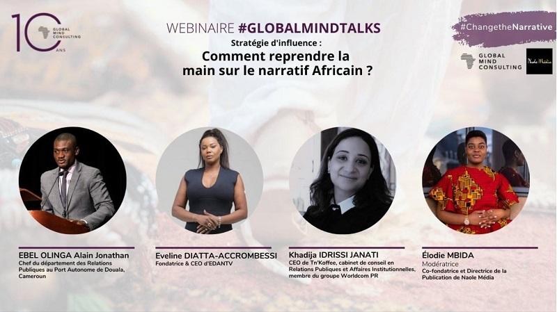 [Replay] Naole Media x Global Mind Consulting : Comment reprendre la main sur le narratif africain ?